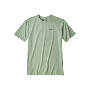 Patagonia P-6 Logo Responsibili-Tee Mens in Lite Distilled Green