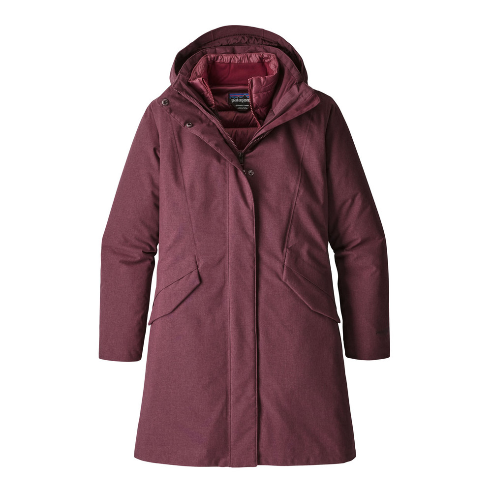 Patagonia Vosque 3-in-1 Parka Womens Dark Currant