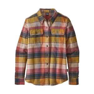 Patagonia L/S Fjord Flannel Shirt Womens