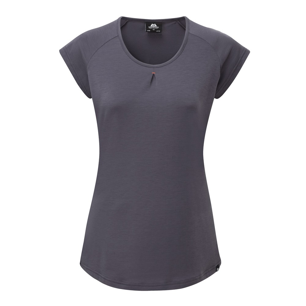 Mountain Equipment Equinox Tee Womens Welsh Slate