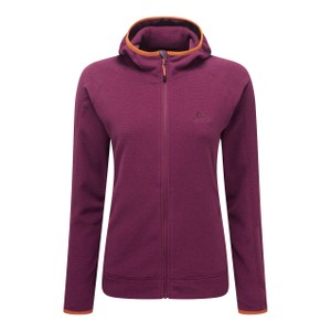 Mountain Equipment Diablo Hooded Jacket Womens in Cranberry