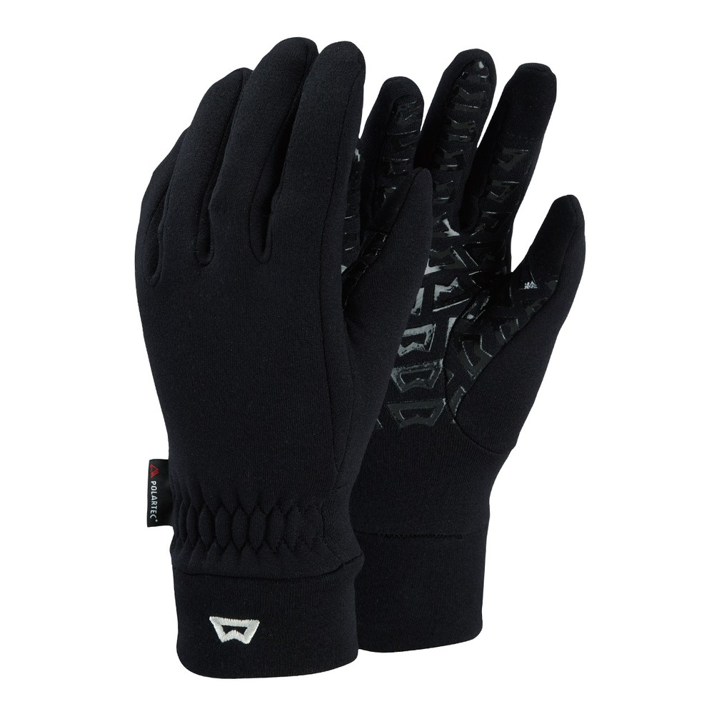 Mountain Equipment Touch Screen Grip Glove Womens Black