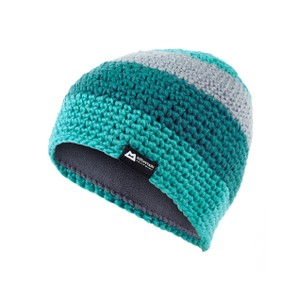 Mountain Equipment Flash Beanie Womens in Pool Blue/Tasman Blue/Nimbus