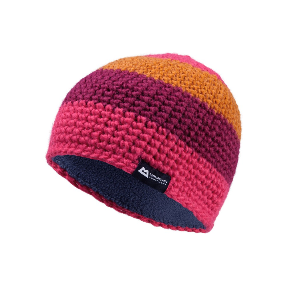 Mountain Equipment Flash Beanie Womens Virtual Pink/Cranberry