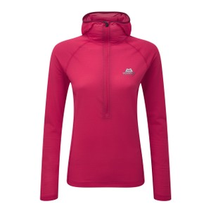 Mountain Equipment Solar Eclipse Hooded Zip Tee Womens