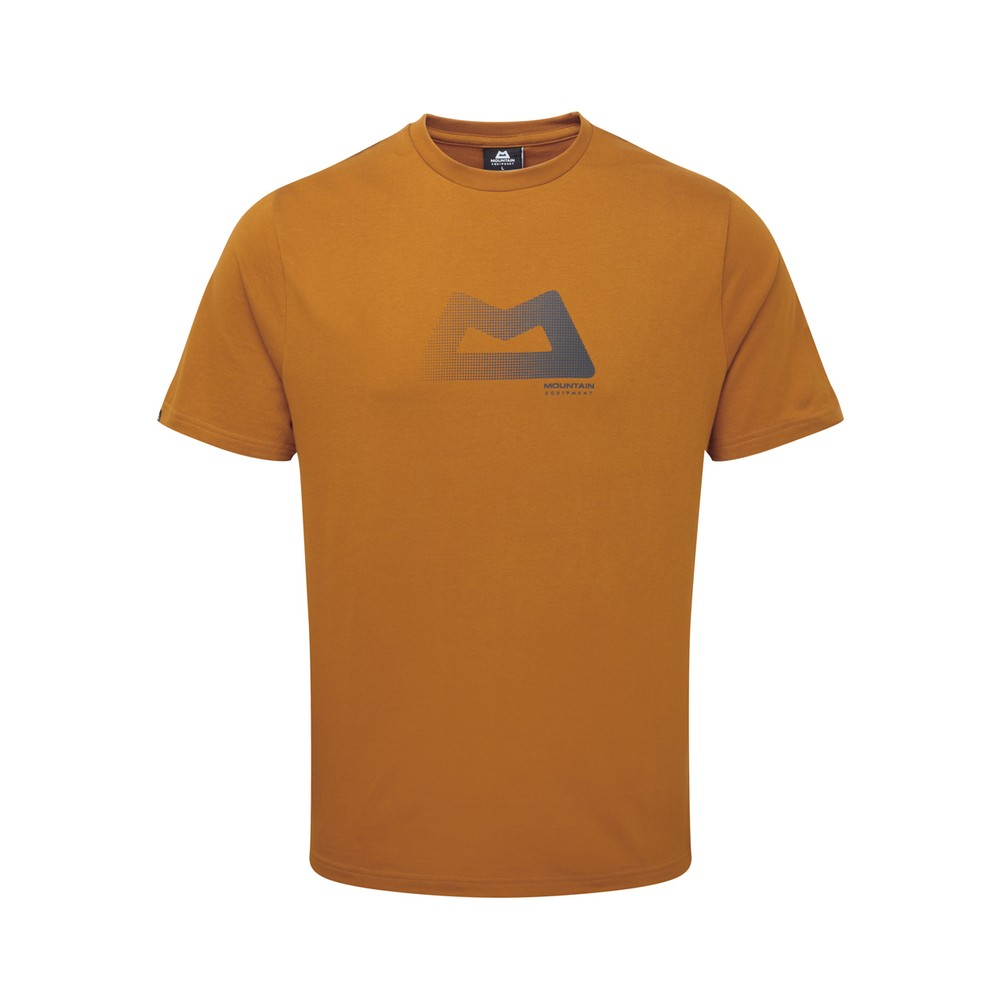 Mountain Equipment Halftone Tee Mens Pumpkin Spice