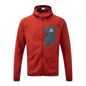 Mountain Equipment Pivot Hooded Jacket Mens in Magma