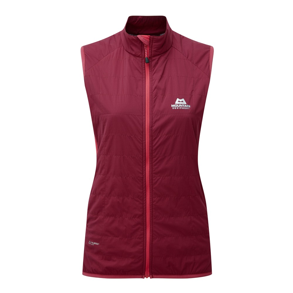 Mountain Equipment Switch Vest Womens Cranberry/Virtual Pink