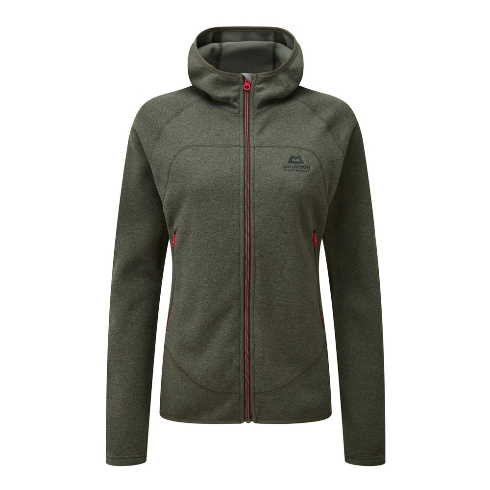 Mountain Equipment Kore Hooded Jacket Womens Graphite