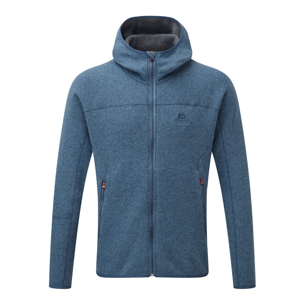 Mountain Equipment Chamonix Hooded Jacket Mens Denim Blue