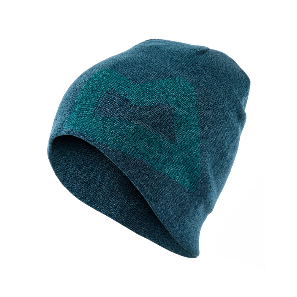 Mountain Equipment Brand Knitted Beanie Mens Legion Blue/Tasman