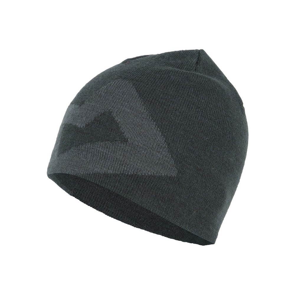 Mountain Equipment Brand Knitted Beanie Mens Raven/Shadow