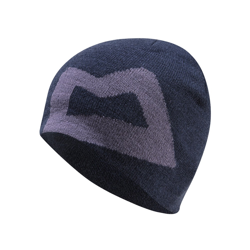 Mountain Equipment Brand Knitted Beanie Womens Cosmos/Welsh Slate