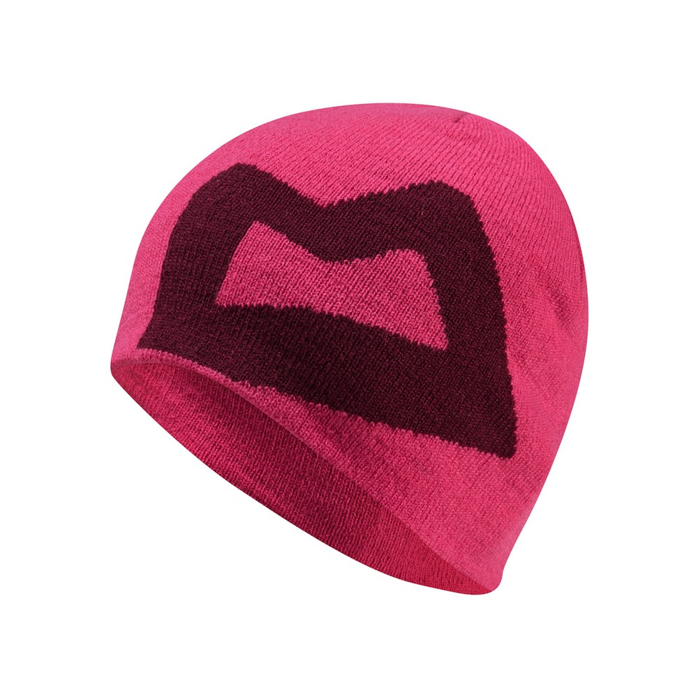 Mountain Equipment Brand Knitted Beanie Womens Virtual Pink/Cranberry