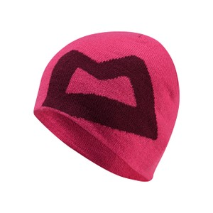 Mountain Equipment Brand Knitted Beanie Womens in Virtual Pink/Cranberry