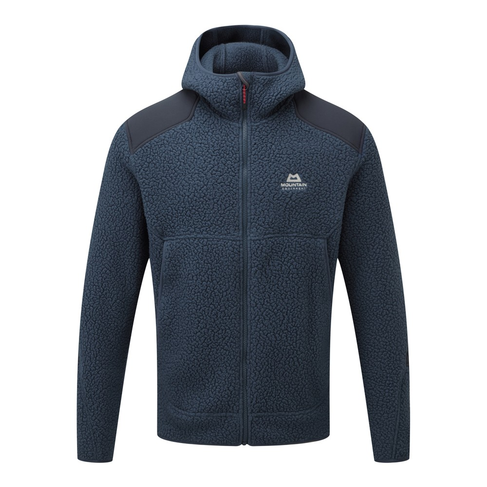 Mountain Equipment Moreno Hooded Jacket Mens Denim/Blue Nights