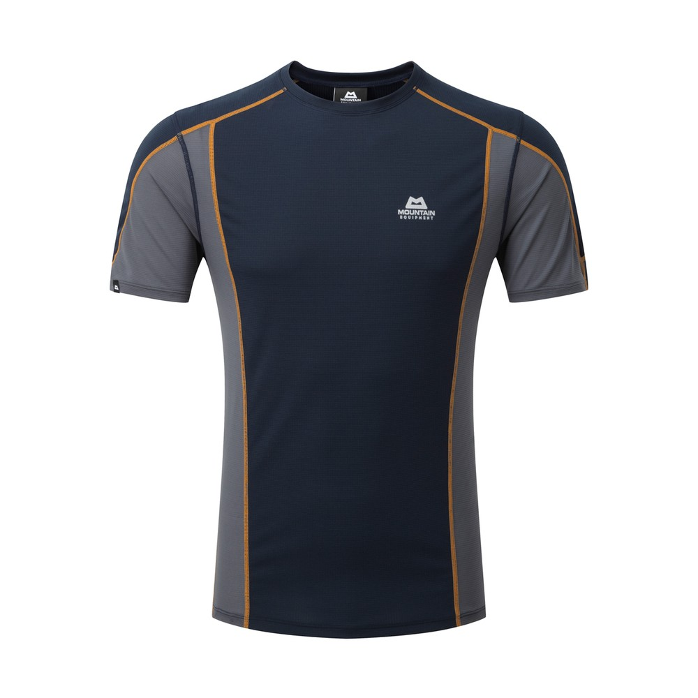 Mountain Equipment Ignis Tee Mens Cosmos/Ombre Blue