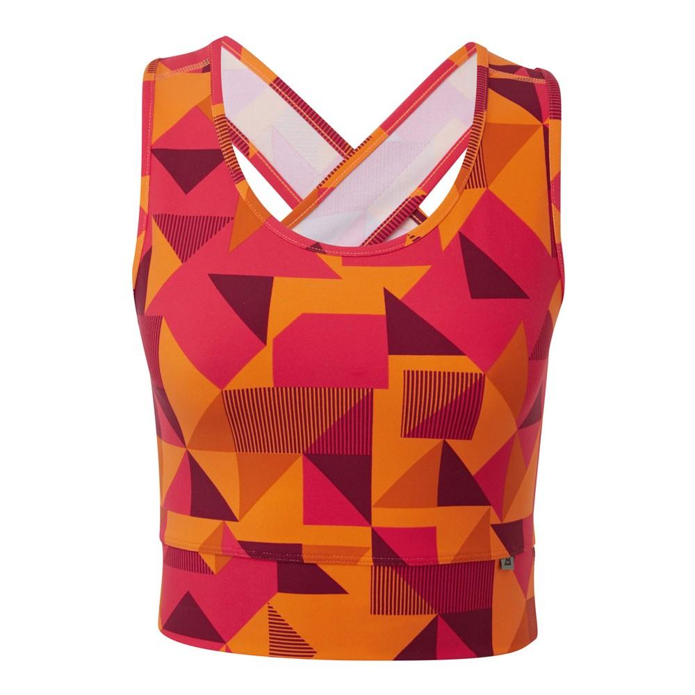 Mountain Equipment Bahia Vest Womens Orange Sherbet