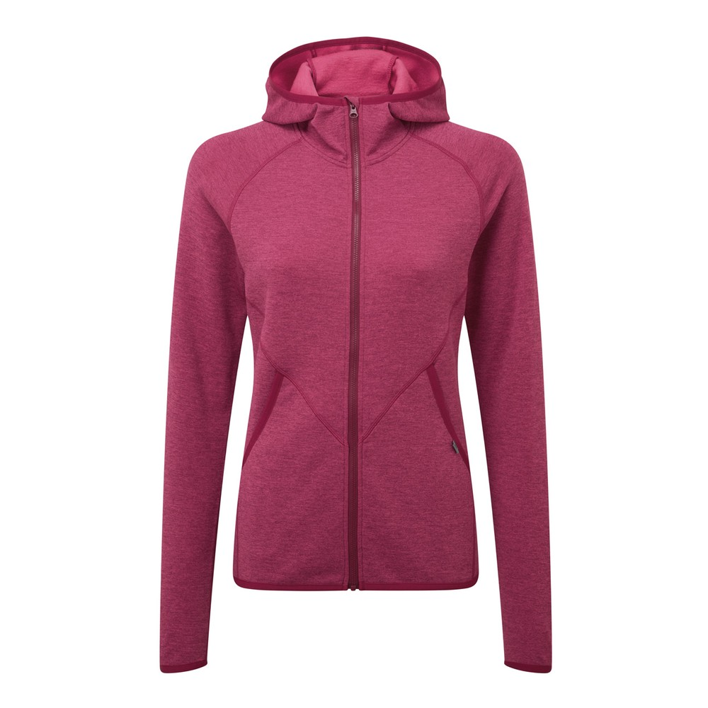 Mountain Equipment Calico Hooded Jacket Womens Cranberry