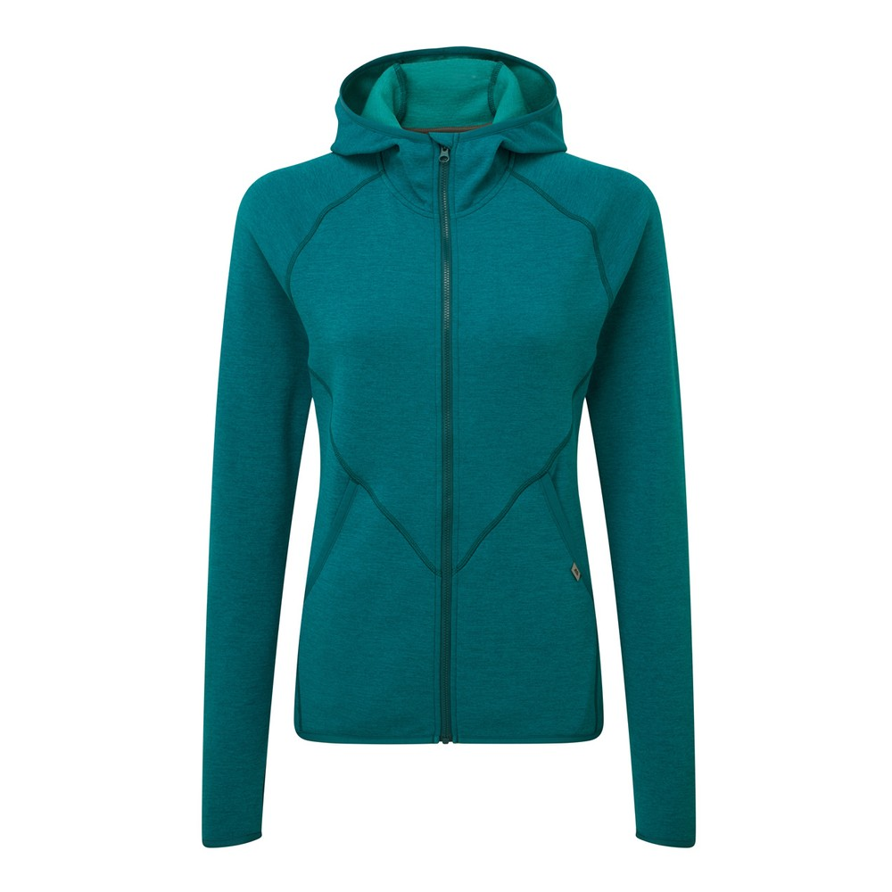 Mountain Equipment Calico Hooded Jacket Womens Tasman Blue