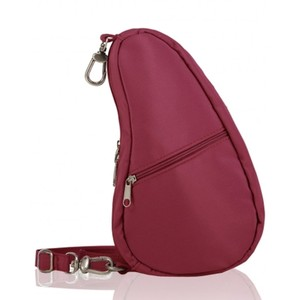 Healthy Back Bag Microfibre Baglett in Garnet