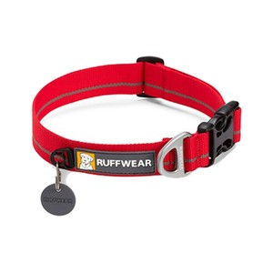 Ruffwear Hoopie Collar in Red Currant