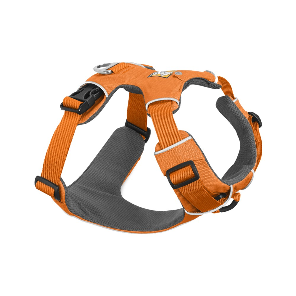 Ruffwear Front Range Harness Orange Poppy