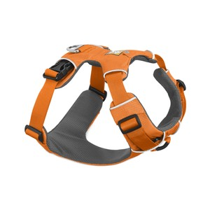 Ruffwear Front Range Harness in Orange Poppy