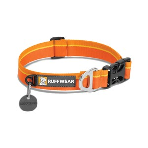Ruffwear Hoopie Collar in Orange Sunset