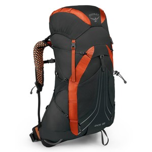 Osprey Exos 38 in Blaze Black
