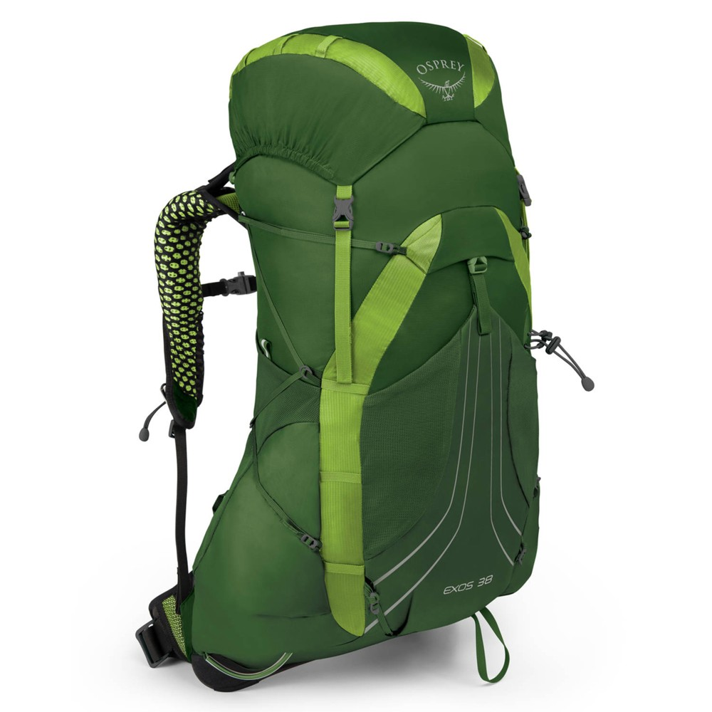 Osprey Exos 38 Tunnel Green