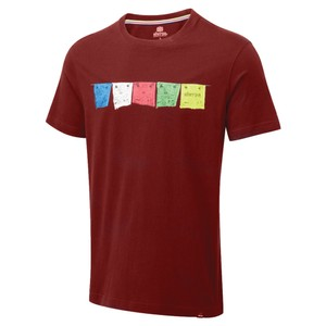 Sherpa Tarcho Tee Mens in Potala Red