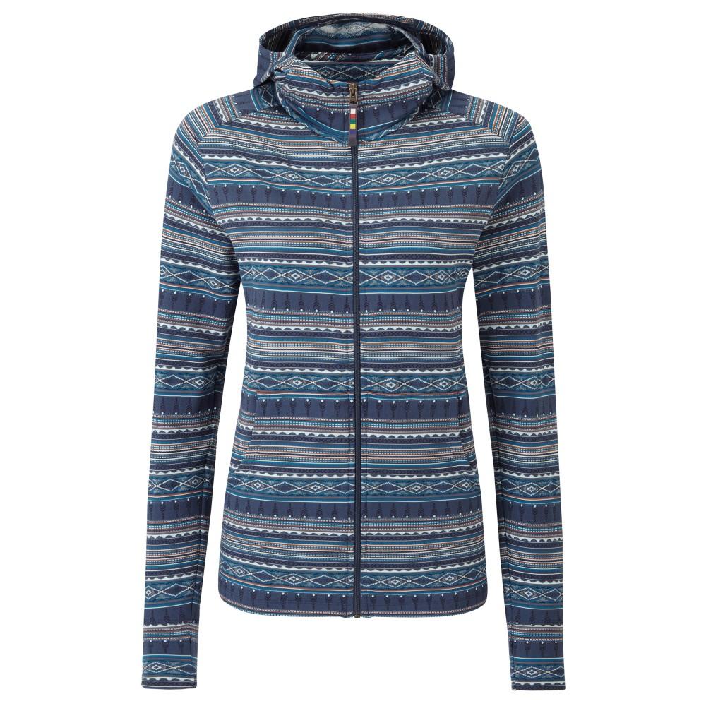 Sherpa Preeti Jacket Womens Neelo Blue