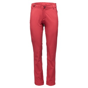 Black Diamond Alpine Light Pants Womens in Wild Rose