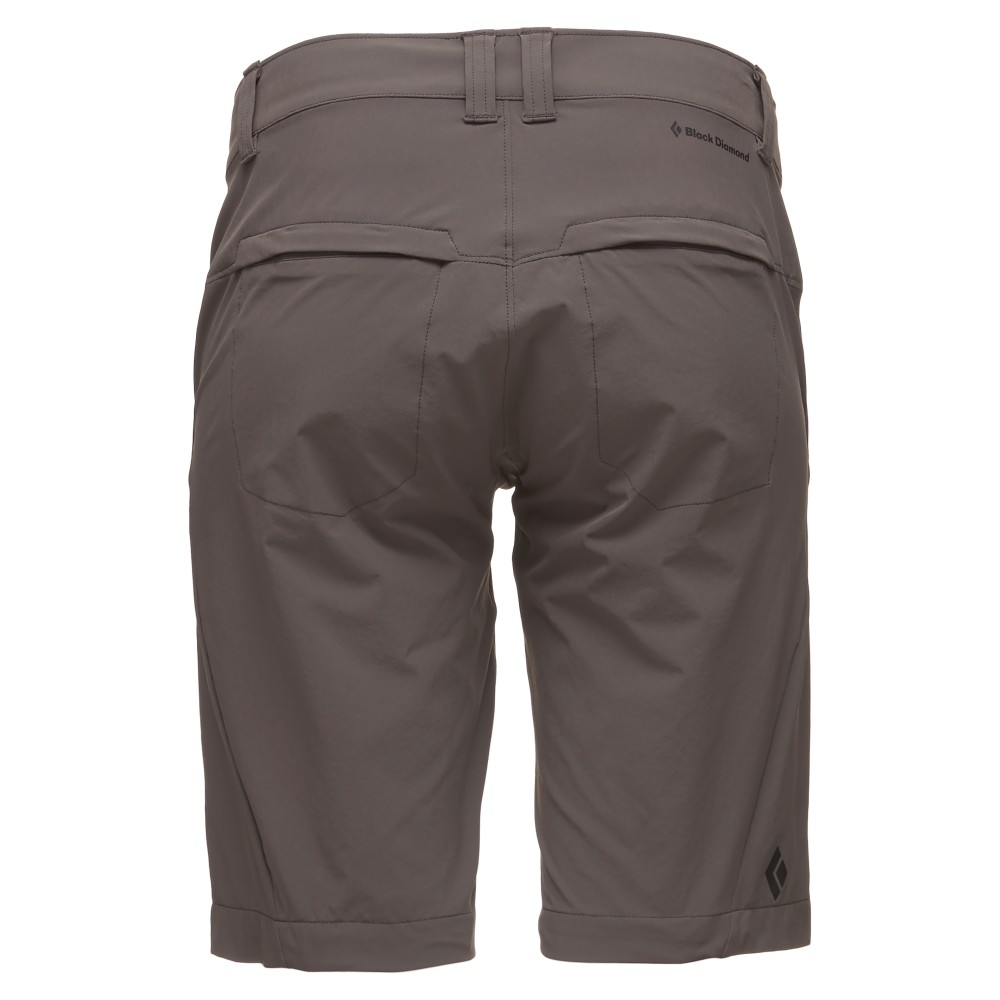 Black Diamond Valley Shorts Womens Slate