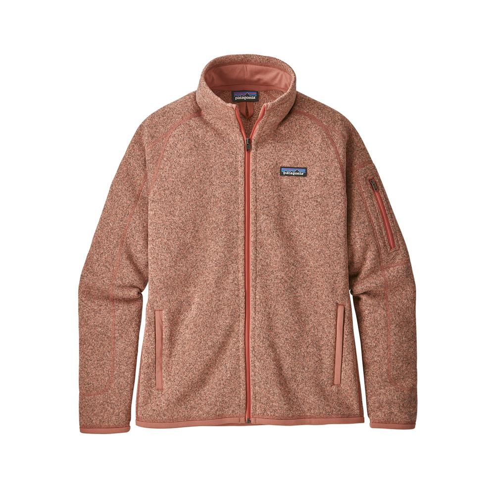 Patagonia Better Sweater Jacket Womens Flora Pink