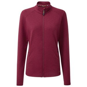 Sherpa Om Jacket Womens in Anaar