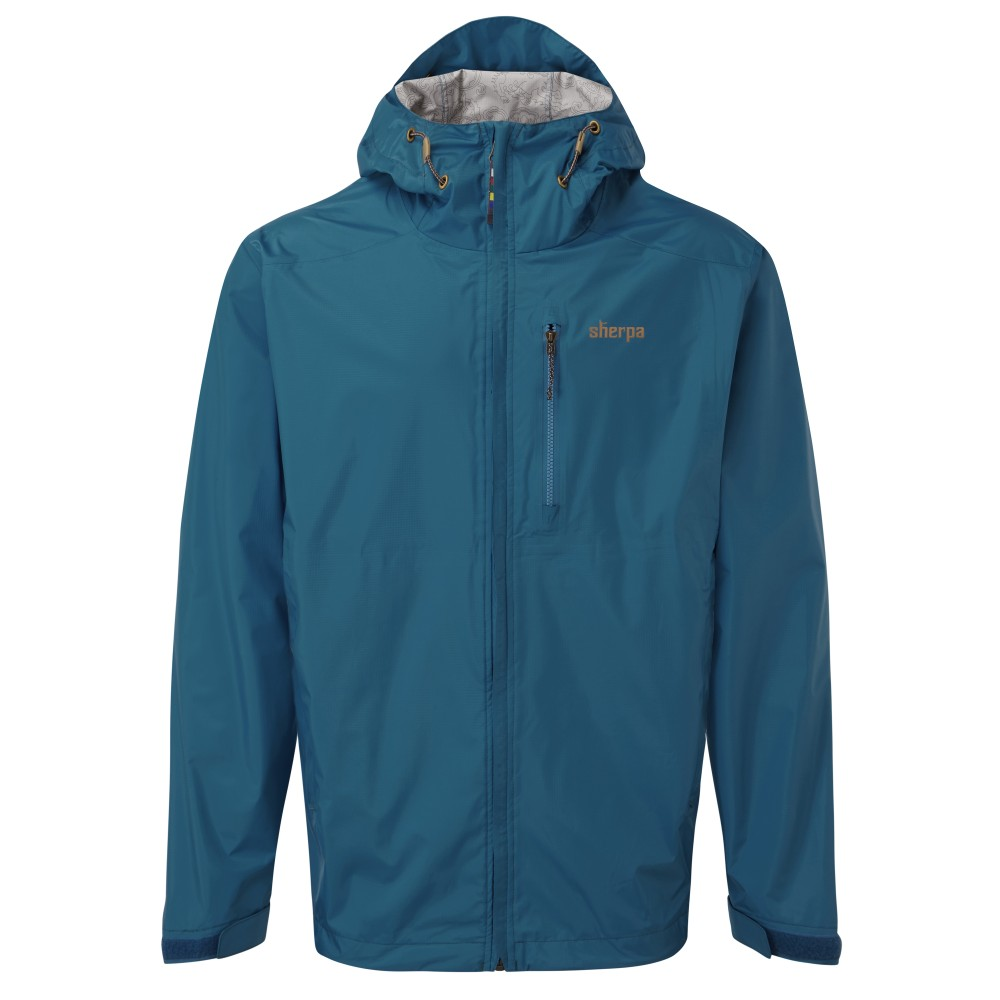 Sherpa Kunde 2.5 Layer Jacket Mens Raja Blue