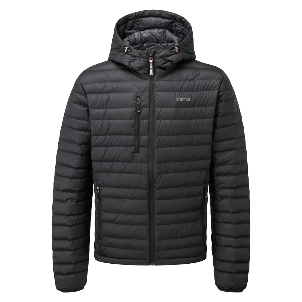 Sherpa Nangpala Hooded Jacket Mens Black