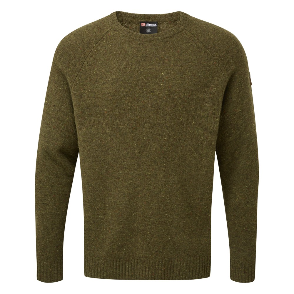 Sherpa Kangtega Quarter Zip Mens Mewa Green
