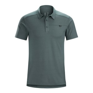 Arcteryx  Captive SS Polo Mens in Neptune