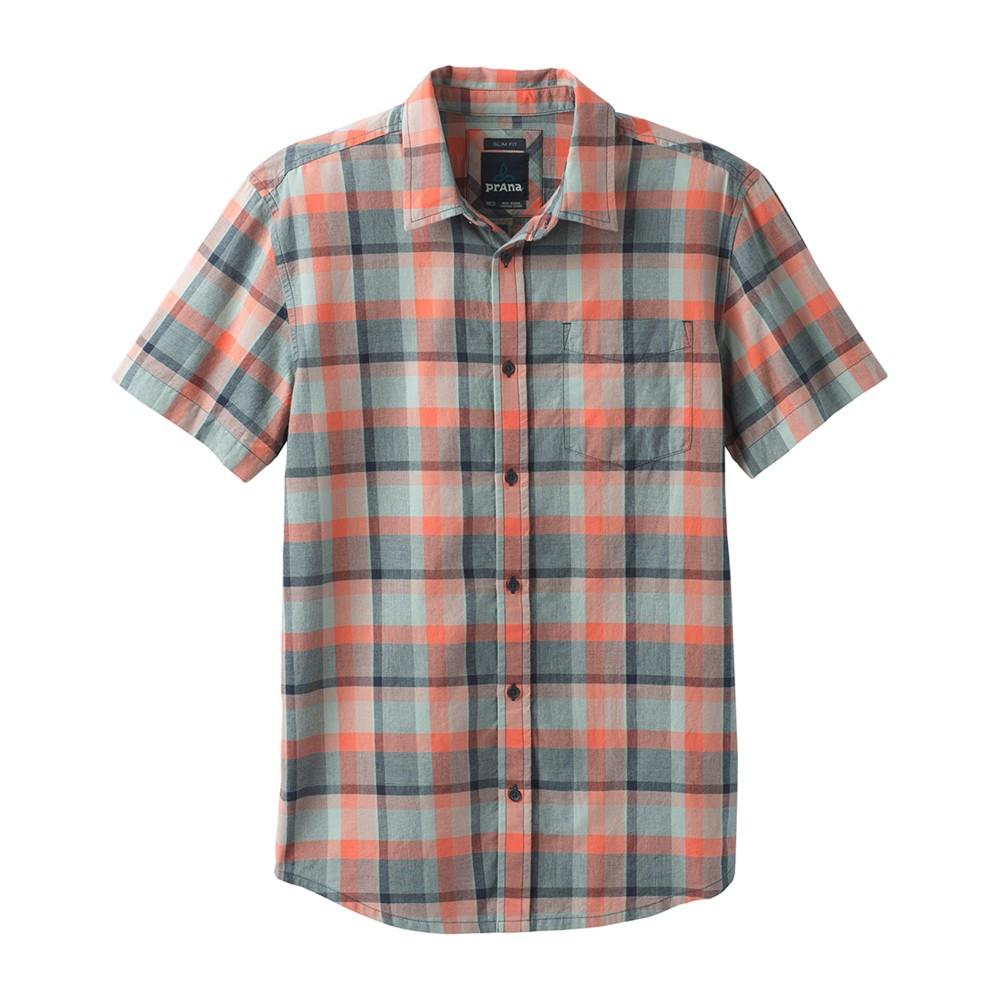 Prana Bryner Shirt Slim Mens Agave