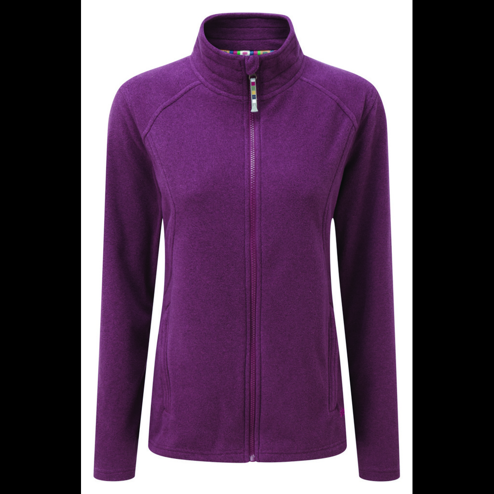 Sherpa Karma Jacket Womens Anaar Heather