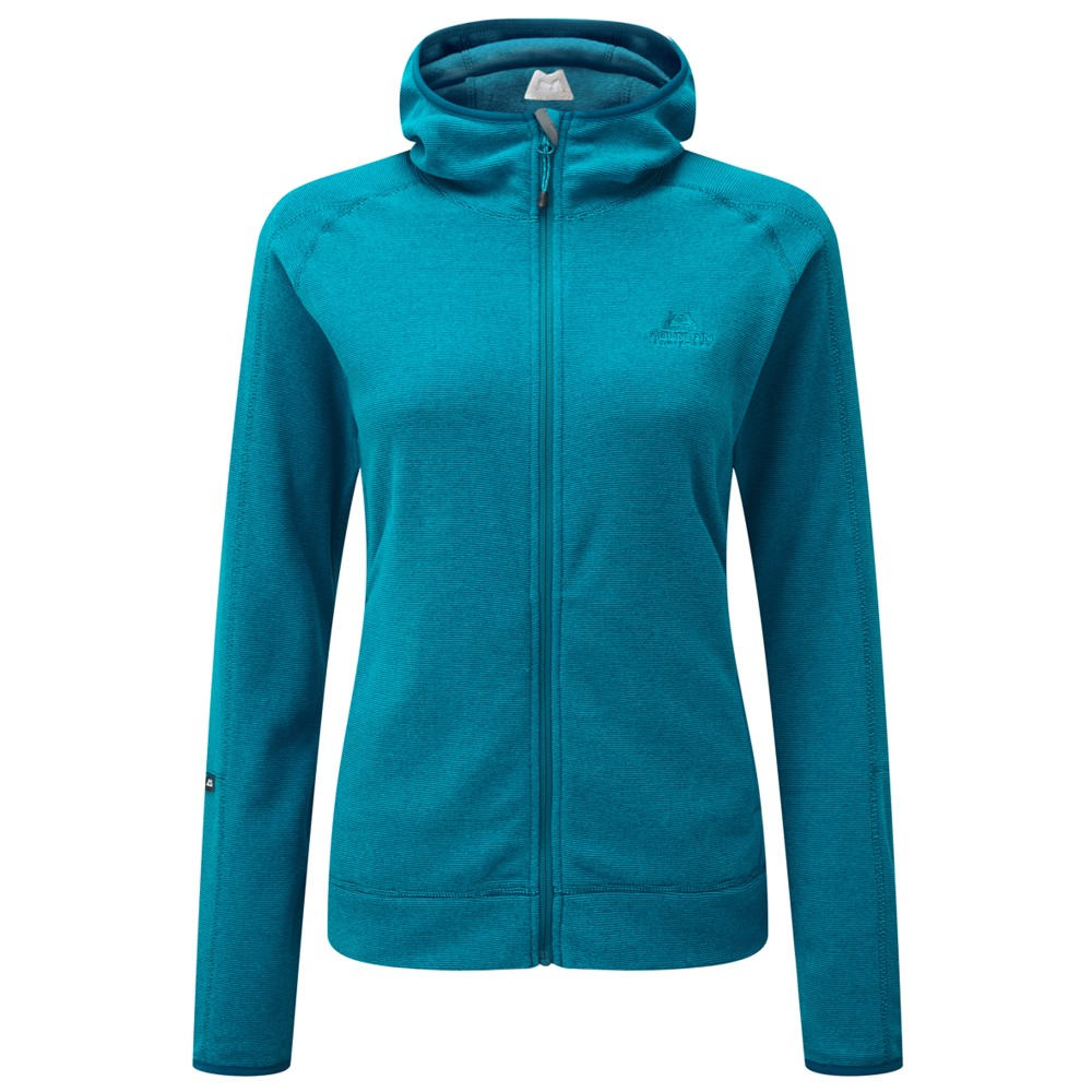 Mountain Equipment Diablo Hooded Jacket Womens Tasman Blue