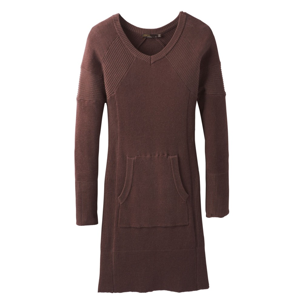 Prana Avalone Dress Womens Wedged Wood