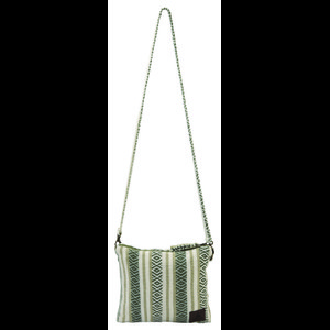 Sherpa Jhola Cross Body Bag in Koshi Green