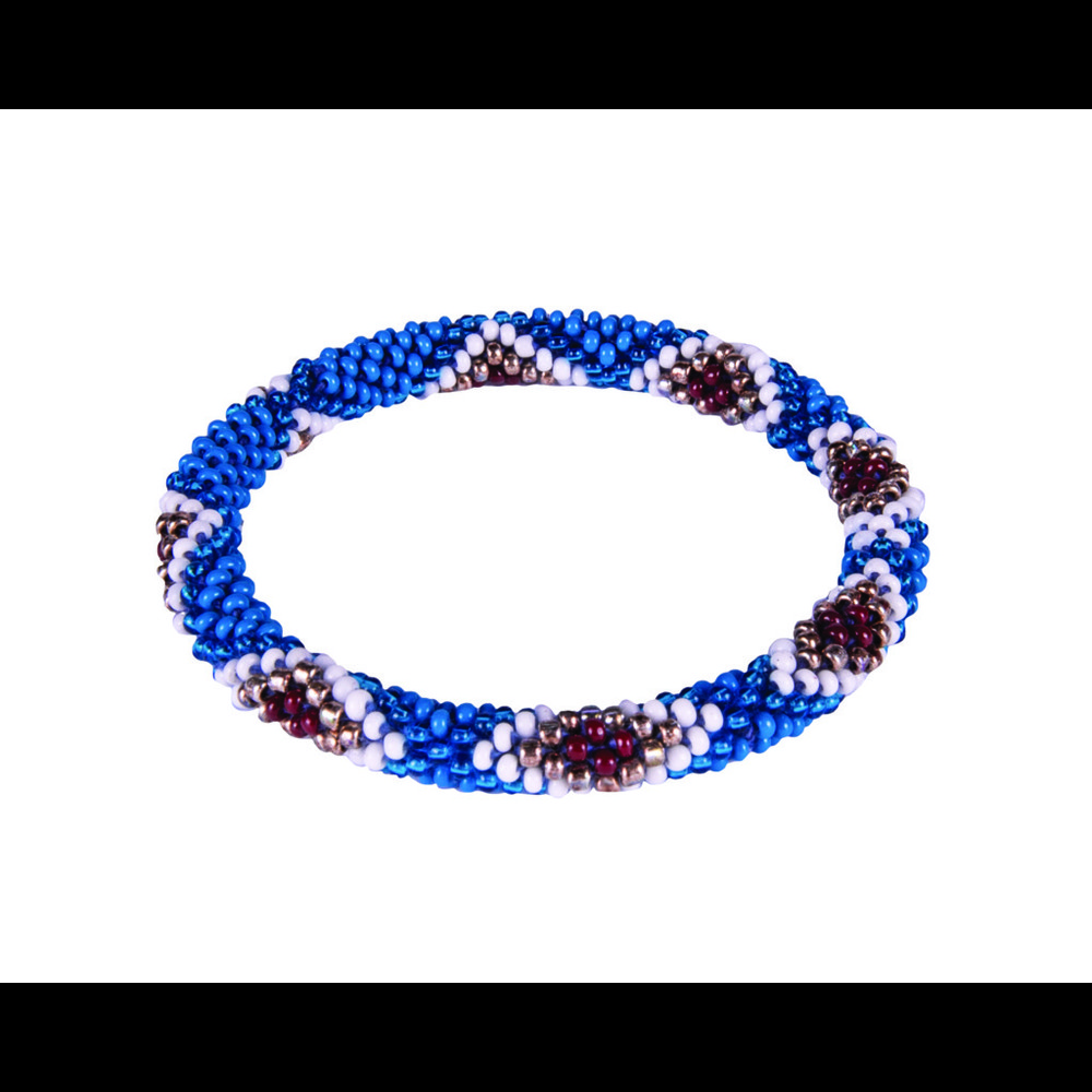 Sherpa Mayalu Multi Roll On Bracelet Blue Tara