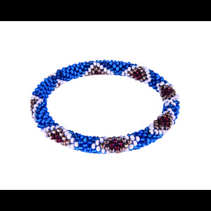 Sherpa Mayalu Multi Roll On Bracelet in Blue Tara