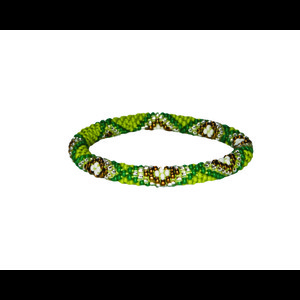 Sherpa Mayalu Multi Roll On Bracelet in Gokarna Green