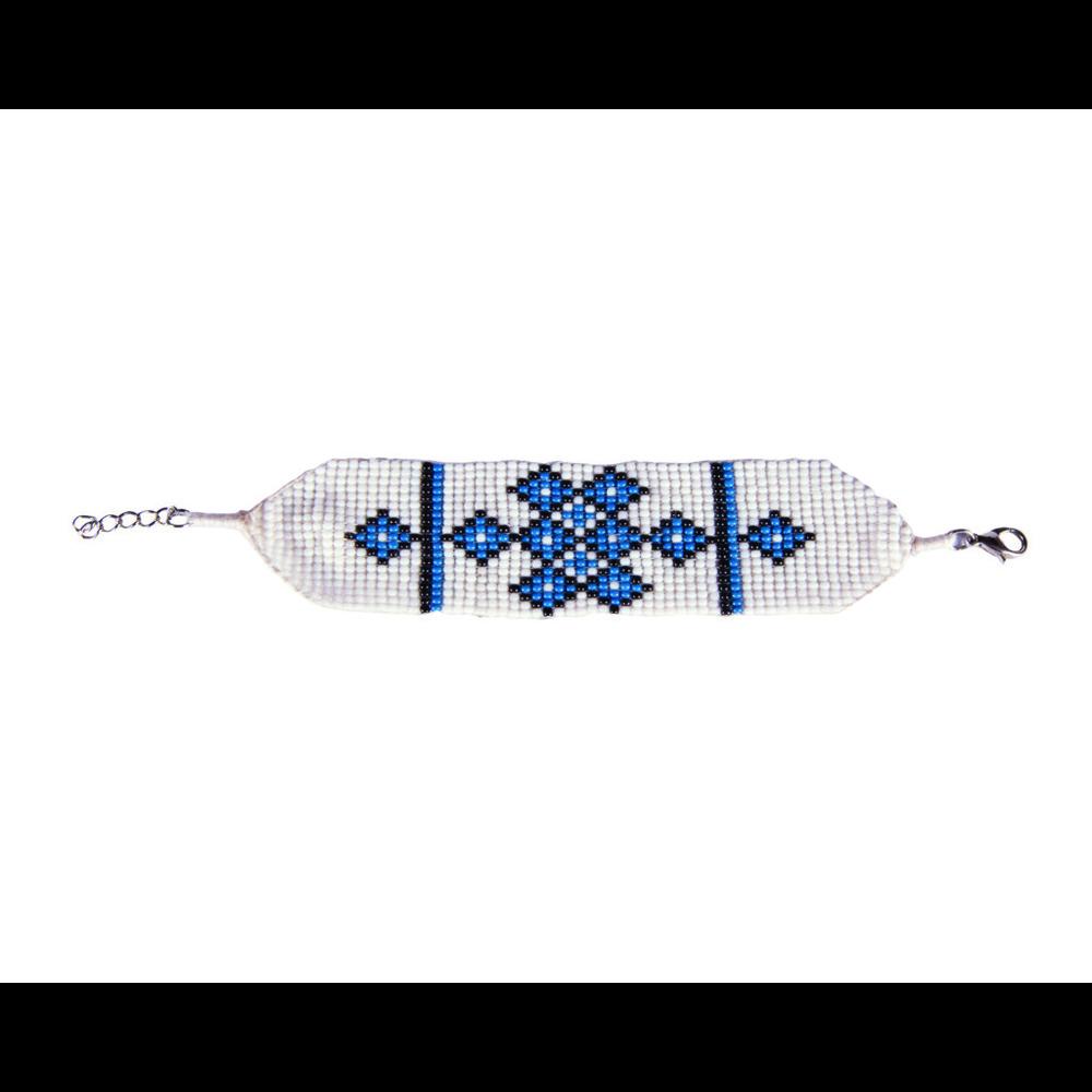 Sherpa Mayalu Endless Knot Bracelet Blue Tara